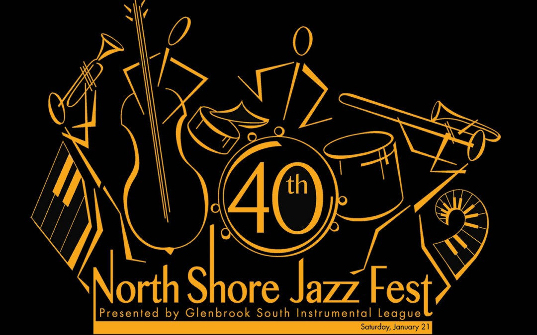 North Shore Jazz Fest 2017 Art Design